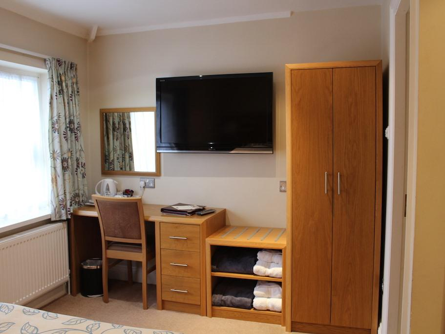 Comfy Double with ensuite wet room
