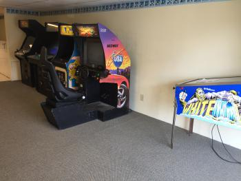 Gameroom located on 2nd floor