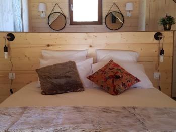 Lodge JUNO avec bain nordique