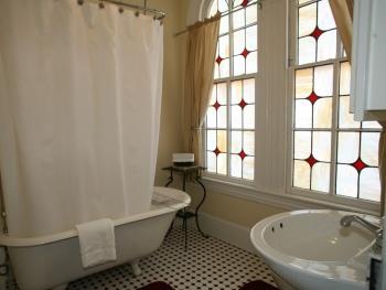 Burgundy Room Bath