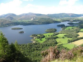 a view from walla crag