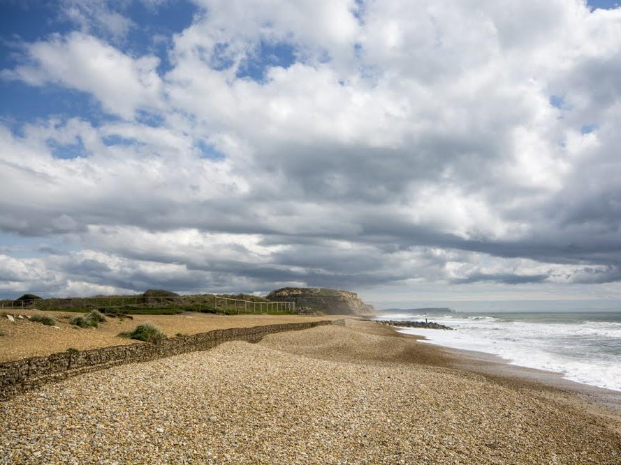 Nearby Hengistbury Head