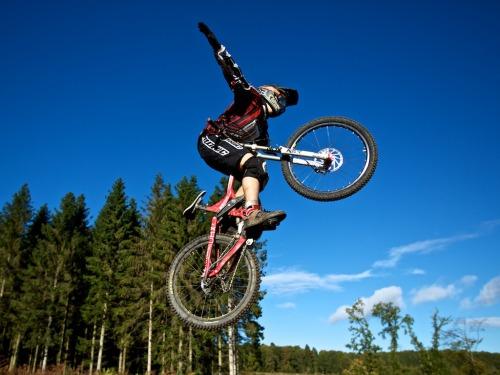 Mountain bike friendly