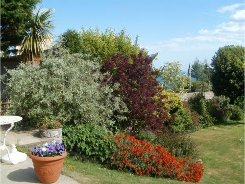 Peaceful: Villa Capri is set in one of the finest positions in Torquay on the beautiful South Devon coastal path