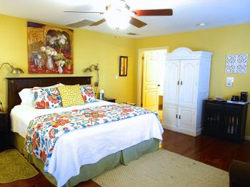 Cypress Room with ensuite private bathroom