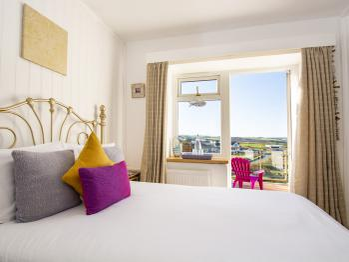 Snug Double with Sea View Balcony