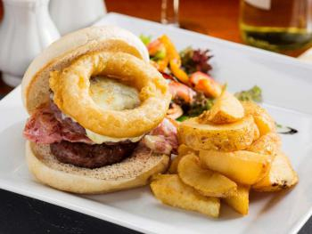 Loggerheads tower burger
