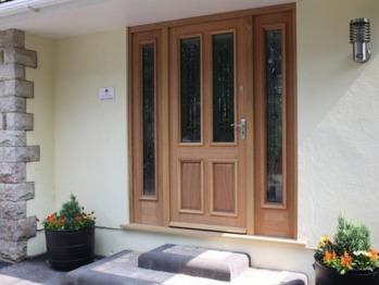 Pine Ridge - Guest Front Door