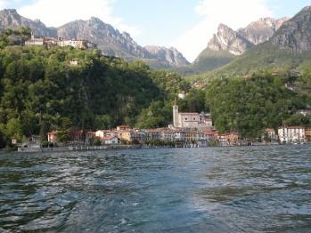 San Mamete vista dal lago