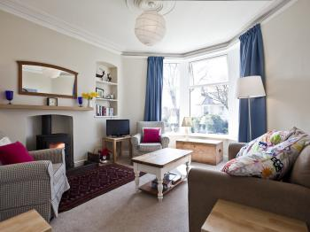 The snug - the smaller of the two living rooms