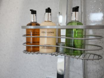 Toiletries included in all bathrooms