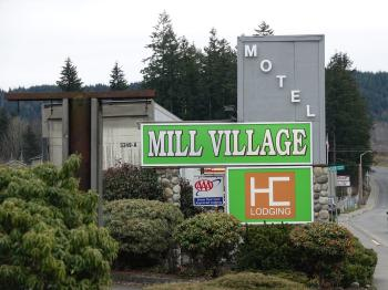 Motel Frontage