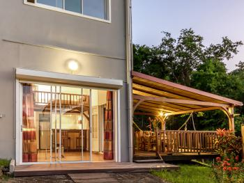 Studio-Romantic-Wet room-Sea View-RDC Avec Terrasse privée
