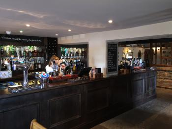 Our fully stocked Bar