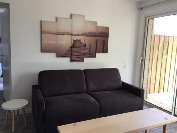 Gite MERMOZ - Canapé lit 160