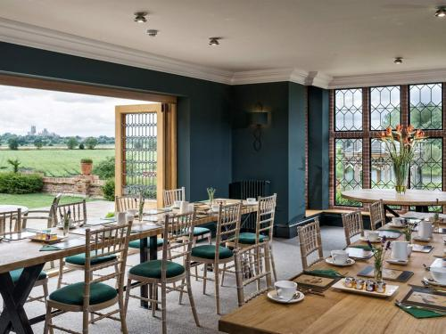 Our Lakes Dining Room where we serve Breakfast
