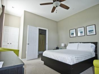 Stylish comfortablly appointed rooms.
