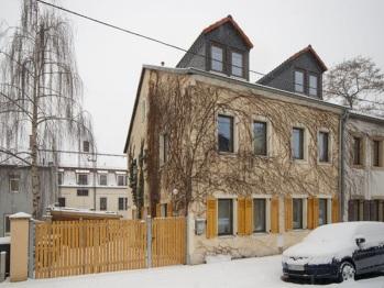 Aussenansicht unseres Hauses auf der Ahornstrasse 13, 01097 Dresden