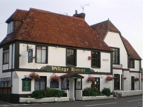 Pub front entrance