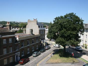 Hubert House Guesthouse - View from the balconies (available with certain room) overlooking conservation area