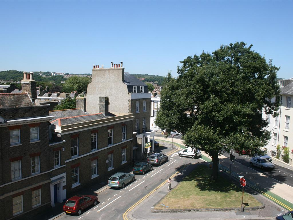 View from the balconies (available with certain room) overlooking conservation area