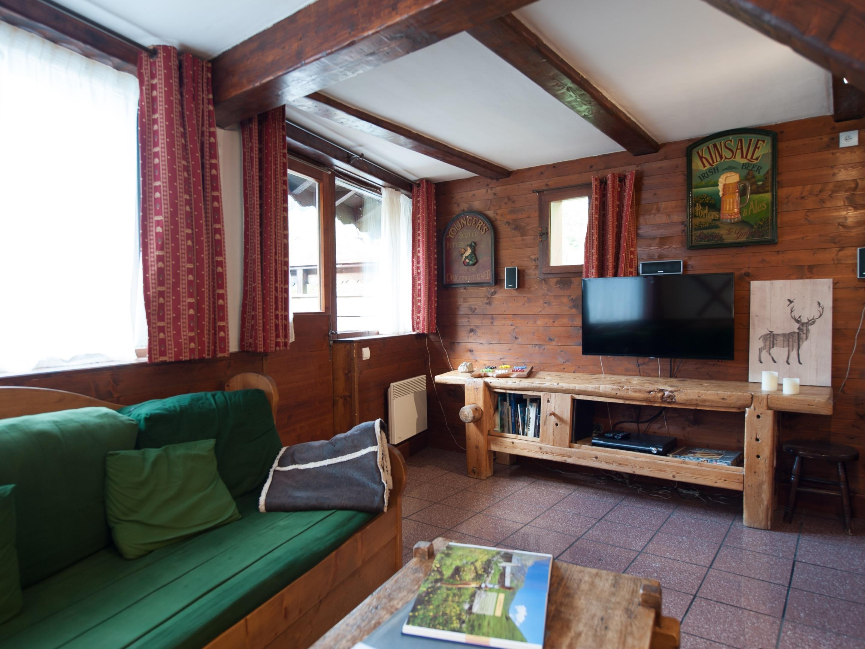 Chalet 6/8 personnes-Chalet-Cottage-Salle de bain et douche-Vue sur Montagne - Tarif de base