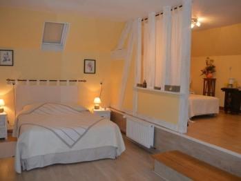 Chambre Cabourg - Familiale Standard - Vue sur Jardin