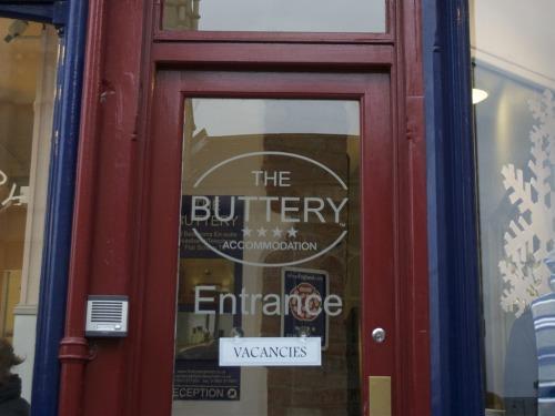 Front Door - buzzer to the left