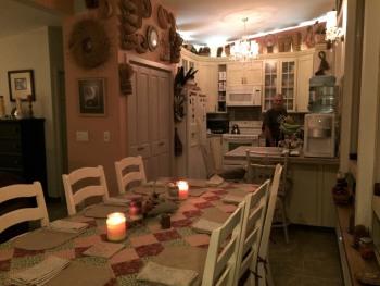 Black Bear Inn kitchen