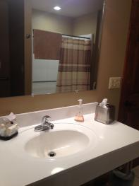 Mountain Breezes Bathroom at Bear Meadows