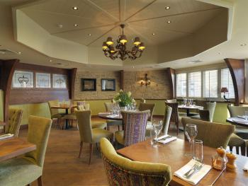 Enjoy a delicious meal in our stylish restaurant