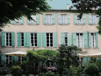 Maison de Fogasses - FACADE HOTEL COTE JARDIN