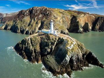 Nearby South Stack Lighthouse - 5 mins walk away