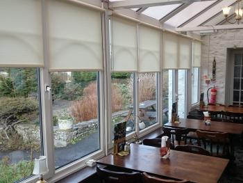 Our conservatory with great garden views