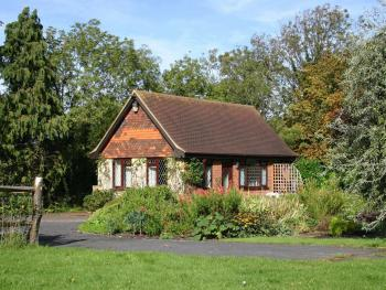 Our picturesque self-catering Cottage in the 3 acre garden