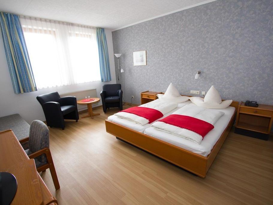 Komfort-Doppelzimmer-Ensuite Dusche
