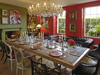 Take breakfast in the Dining Room