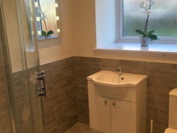 Ground Floor shower room with under floor heating