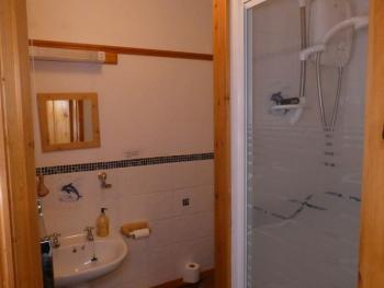 Ensuite shower room in Notter Tor