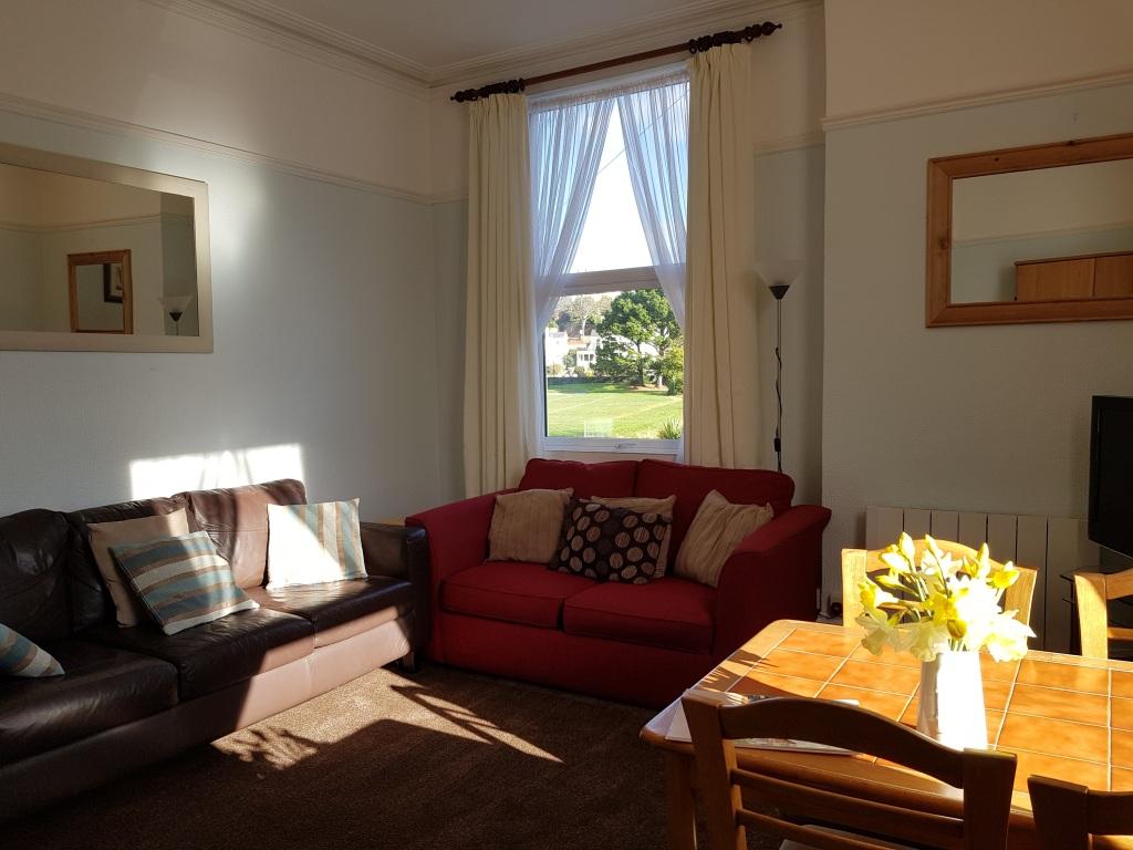 Flat 4 Living Room + Sofa Bed