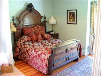 The Bed in Room 10 once slept in by George V