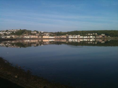 looking in towards rothesay