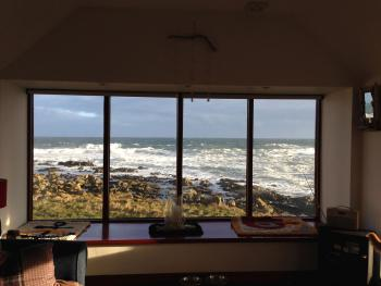spectacular sea views from this cottage