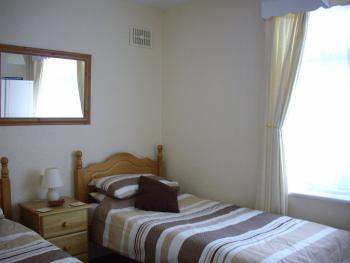 Newly refurbished twin room  Flat screen TV  Tea/Coffee/Biscuits Lge Ensuite towels/toiletries/H Dryer