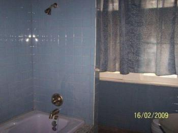 Bathroom cypress whirlpool/shower