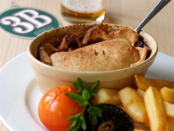 Old Favourite - Home made Steak & Ale Pie