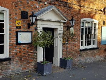 The Three Tuns - front door