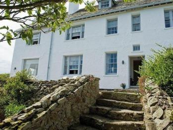 Steps up to the Coastal House