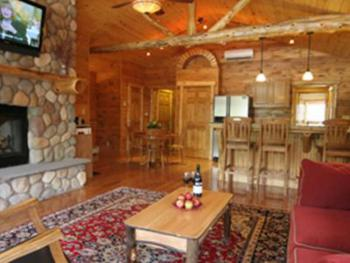 """Our luxury 2-bedroom kitchen suite """"Eagles Nest""""."""