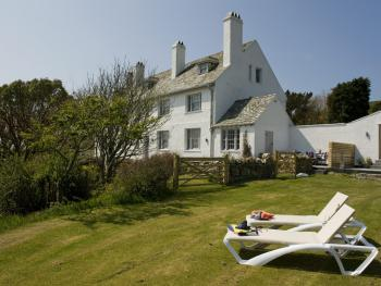 South Stack Coastal Retreats - The private garden of the Garden Cottage